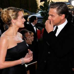 Kate Winslet tips DiCaprio for Oscar success