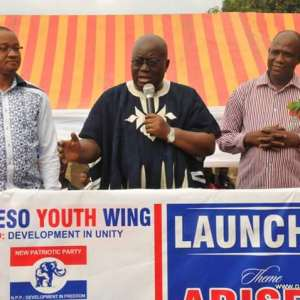 """""""Vote for your future"""", Akufo-Addo urges youth"""
