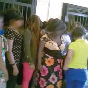 Cantonments police arrest 18 sex workers