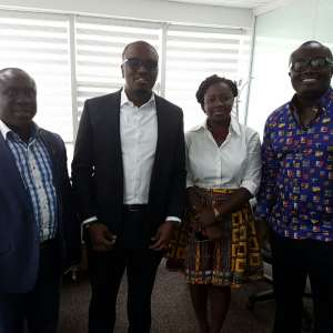 GGBL Corporate Relations Director pays courtesy call on EIB Network