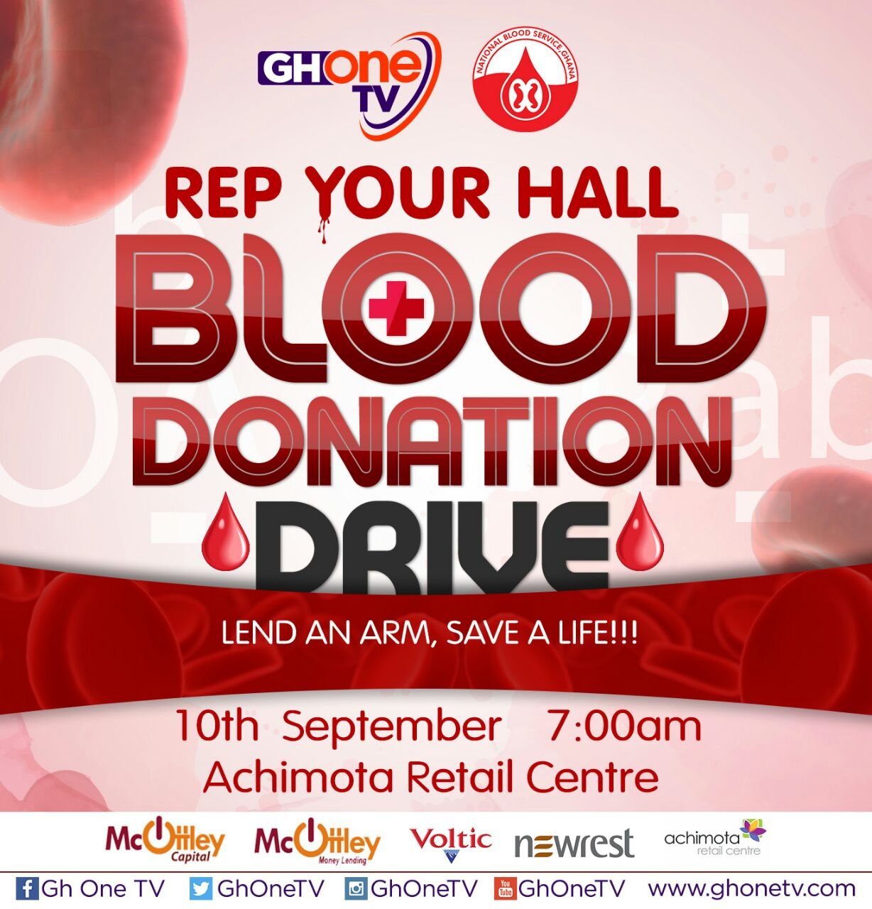 GHOne TV embarks on Blood Donation Drive September 10