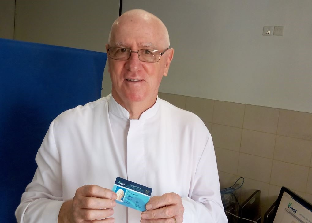 """Father Campbell commends NHIS: """"I see it work"""""""