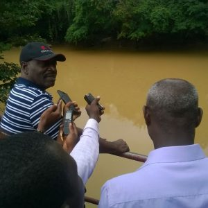 W/R: Illegal miners bully Ghana Water Company staff off treatment plants