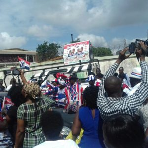VIDEO: NPP supporters celebrate Nana Addo for successfully filing 2016 nomination forms