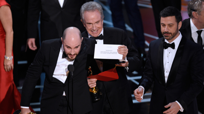 The Oscars had a Steve Harvey moment – WATCH