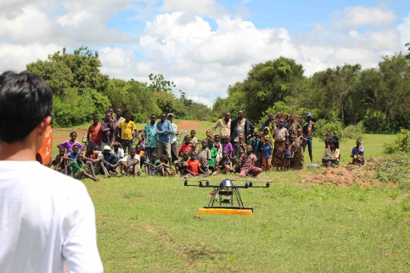 Farmerline to experiment with drones for improved agriculture productivity and sustainability in Ghana
