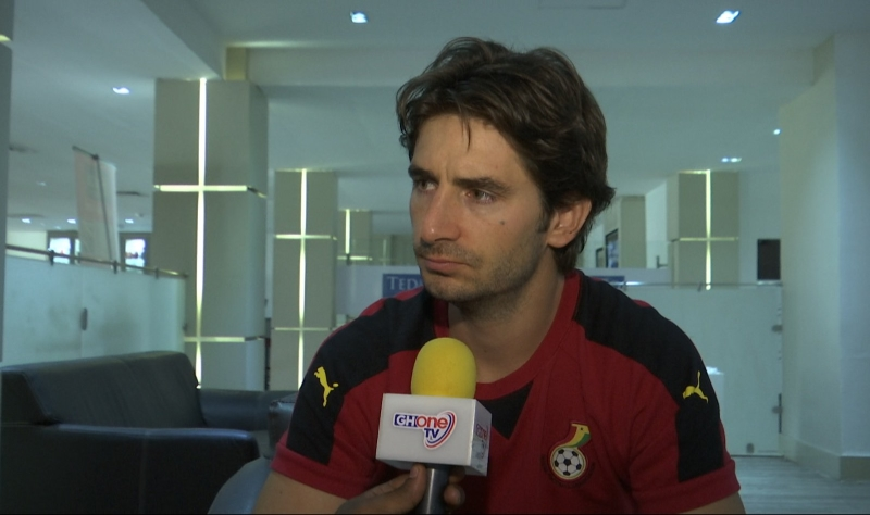 SLEPT IN THE SOFA: Gerard Nus misses flight after Ghana FA asks him to pay some hotel bills