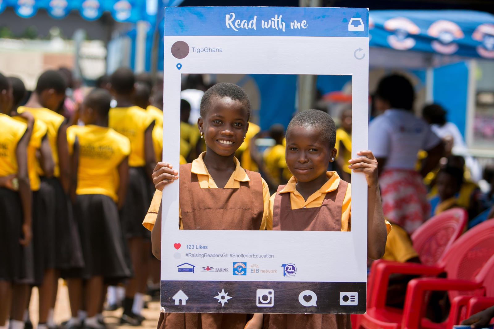 Nana Aba Anamoah's raising readers' initiative gets supports from Journalists, authors, heads of public institutions