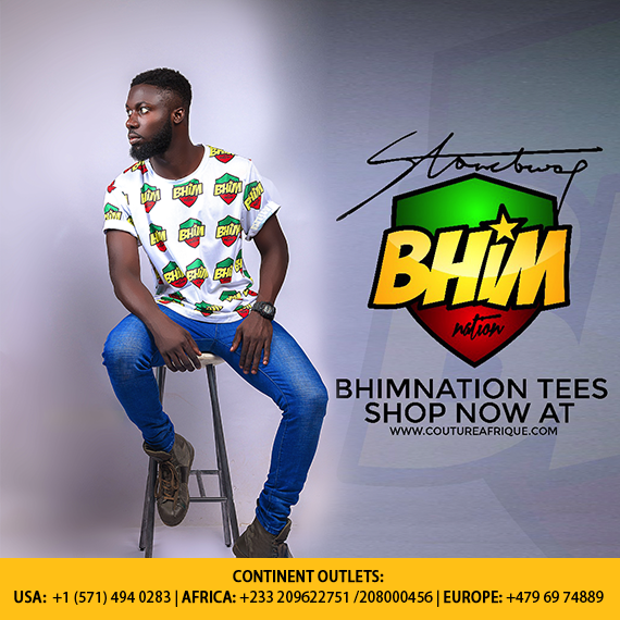 Stonebwoy partners with Couture Afrique to distribute his merchandise