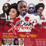 NO PHOTOGRAPHY AT DUVET X'PERIENCE LOVERS DINNER: plus why you should rush for your tickets now!